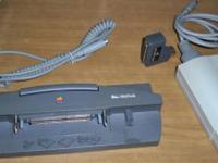 Vintage Apple Mac Items - Docking Station, Apple Talk,