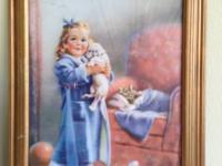 Lovely vintage art. $20 artist Isabel Rollins Harris