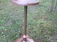 "This Ashtray Stand is 22"" High 5 1/2"" wide Great For"