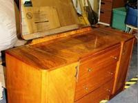 This is a beautiful mid century dressing table. Made by