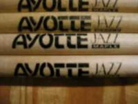 "Vintage Ayotte ""Jazz"" Maple drum sticks. CALL WILD"