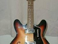 I have a Vintage Guitar By Baldwin made in Italy around