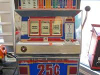 Up for sale is a vintage Bally Series E slot machine.