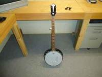 Vintage KAY BANJO Late 50's Early 60's. New Remco Head,
