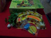 The sets are in good , used, played with condition,