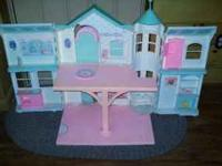 Hello, This gorgeous vintage Barbie dollhouse is in
