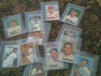 I have lots of Vintage Cards ranging from a $1 to $150.