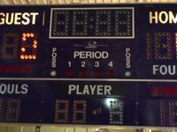 Classic Basketball Score Board$1900Booth 766Lula B's