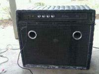 I have a pretty cool old bass amp combo. It is a 1972