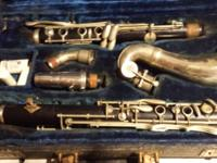This bass clarinet was made by the V. Kohlert's & sons