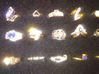 Vintage and antique rings Estate find,many styles,great