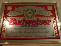 OR SALE Vintage Beer Genuine Mirror Large and Small