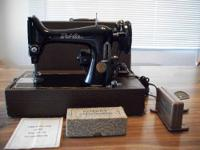I have a 3/4 head BelAir Bantam Electric sewing machine