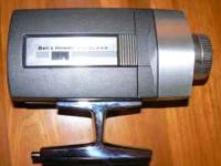 Vintage BELL & HOWELL SUPER 8 AUTOLOAD MOVIE CAMERA,