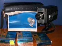Model 435, Super 8, autoload, focusmatic Made in U.S.A.