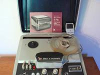 This mint condition portable 1957 Recorder, 120 volt,