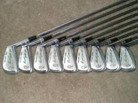 A COMPLETE SET OF VINTAGE BEN HOGAN FORGED CLUBS 2 THRU