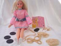 Includes: 1971 Talking Cynthia Doll in her original