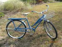 Vintage Sears 1963 bicycle, excellent condition, good