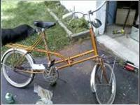 If you have an OLD bike, especially an old barn bike,
