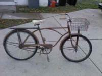 Vintage bike...Huffy?Asking $80.00,Call  Location: