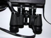 NICE OLD BINOCULARS IN FINE CONDITION. KINDLY READ: I