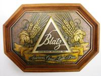 Vintage Blatz Beer Sign    $25.00   Nice Looking Beer