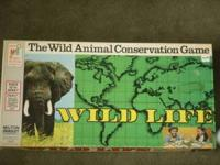 1974 Milton Bradley game Wild Life. Mint condition -