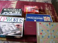 5 games buy one or all....    1967 Parcheesi game made