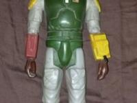 SOME COOL VINTAGE LIKE THE 14 INCHES BOBA FETT 1979