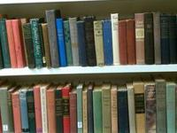 We have racks and shelves complete of vintage books,