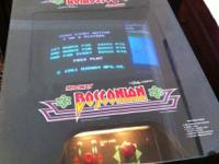 Vintage Bosconian Cocktail Table Video Video game (can