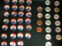 Vintage Soda Bottle Caps ( lot of 81) 27 Pepsi Cola 1