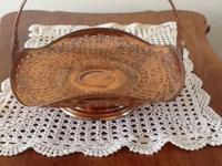 Manning Bowman Quality copper colored, pierced Bride's