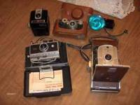 HERE WE HAVE FOUR VINTAGE CAMERA AND YES THEY ALL DO