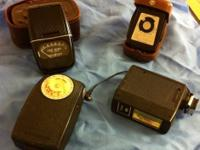 Lot Of Assorted Camera Equipment - Light Meters And