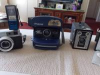 I have 4 old electronic cameras. 1. ANSO SHUR FLASH