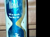 Vintage Merry Maid Roll on acrylic Floor Wax Kit,