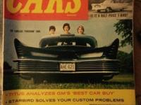 I have 4 vintage car magazines 3 motor life and one