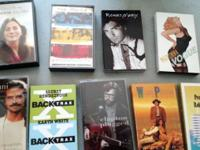 Vintage Cassette TAPES ~ Lot of Nine (9) Cassette
