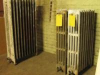 Vintage Cast Iron Radiators Reasonable prices Call  Or