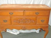 I have a few old cedar chests; one is made by Lane, the
