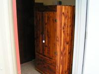 vintage cedar wardrobe $175.00  can be seen at HAZEL