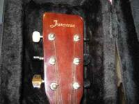 "Vintage---made by C F MARTIN "" FRANCISCAN "" accoustic"