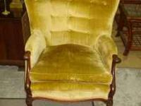 This vintage chair is in very good condition for its