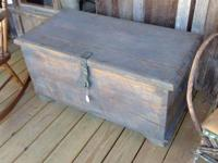 """This piece would make great coffee table, measures 38"""""""
