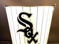 Vintage CHICAGO WHITE SOX ROUND FOOD / ICE BUCKET Going