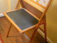 Cass Toys mid-century vintage blackboard easel/desk is