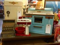 Vintage Child's Kitchen Toys $20 and up Mid Century