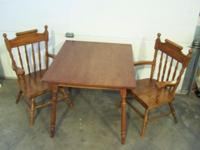 Vintage Child's Table & & Two Matching Chairs $45.